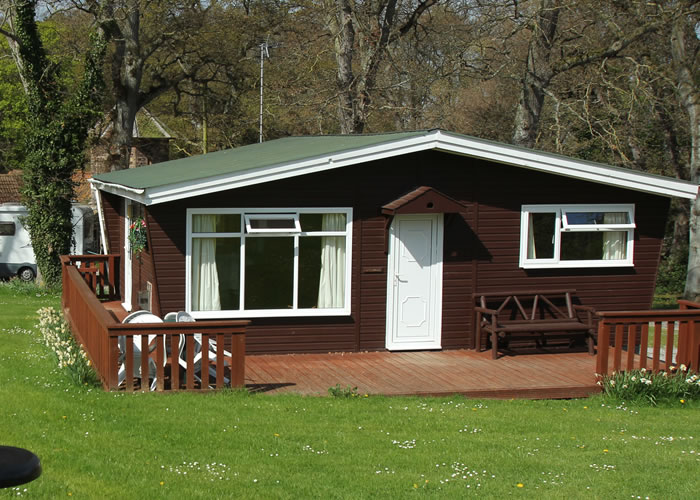 Holiday lodges by the sea in Somerset